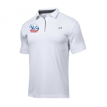 Поло Under Armour Tech Polo-WHT
